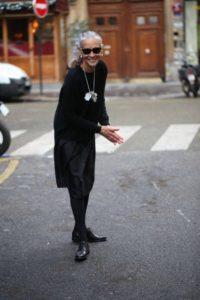 móda pro zralé ženy - Linda Wright